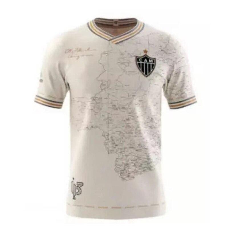 New Incredible Fan-dNew esiged Atlético Mineiro soccer 21-22 'Manto Da Massa 113' Mineiro  113th beautiful Kits T-shirt