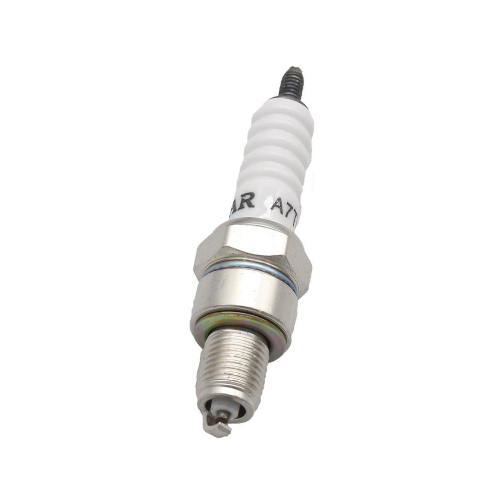 Свеча зажигания A7TC A7TJC 3 электрода для GY6 50cc-125cc Мопед Скутер ATV квадроциклы