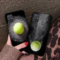 cutewanan tennis ball movement phone case cover shell for samsung a10 a20 a30 a40 a50 a70 a80 a71 a91 a51 a6 a8 2018