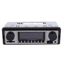 NEUE-Bluetooth Vintage Auto Radio MP3 Player Stereo USB AUX Klassische Auto Stereo Audio