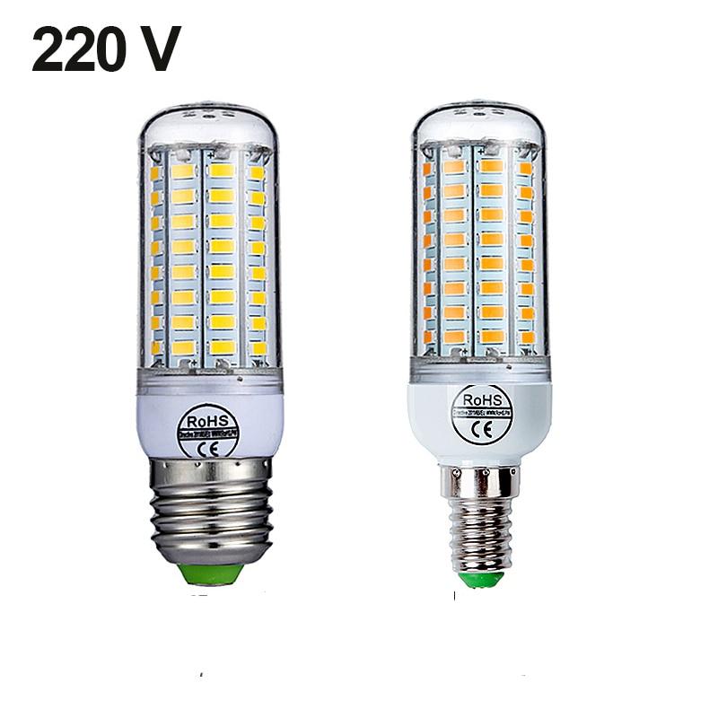 Светодиодная лампа Goodland E27, E14, 220 В, холодный белый свет, 24 36 48 56 69 72 светодиода, кукурузная лампа для домашнего освещения