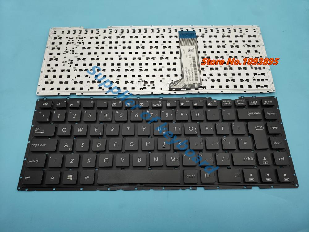 Novo teclado britânico para asus x451 x451c x451ca x451m x451ma x451mav portátil uk (gb) teclado