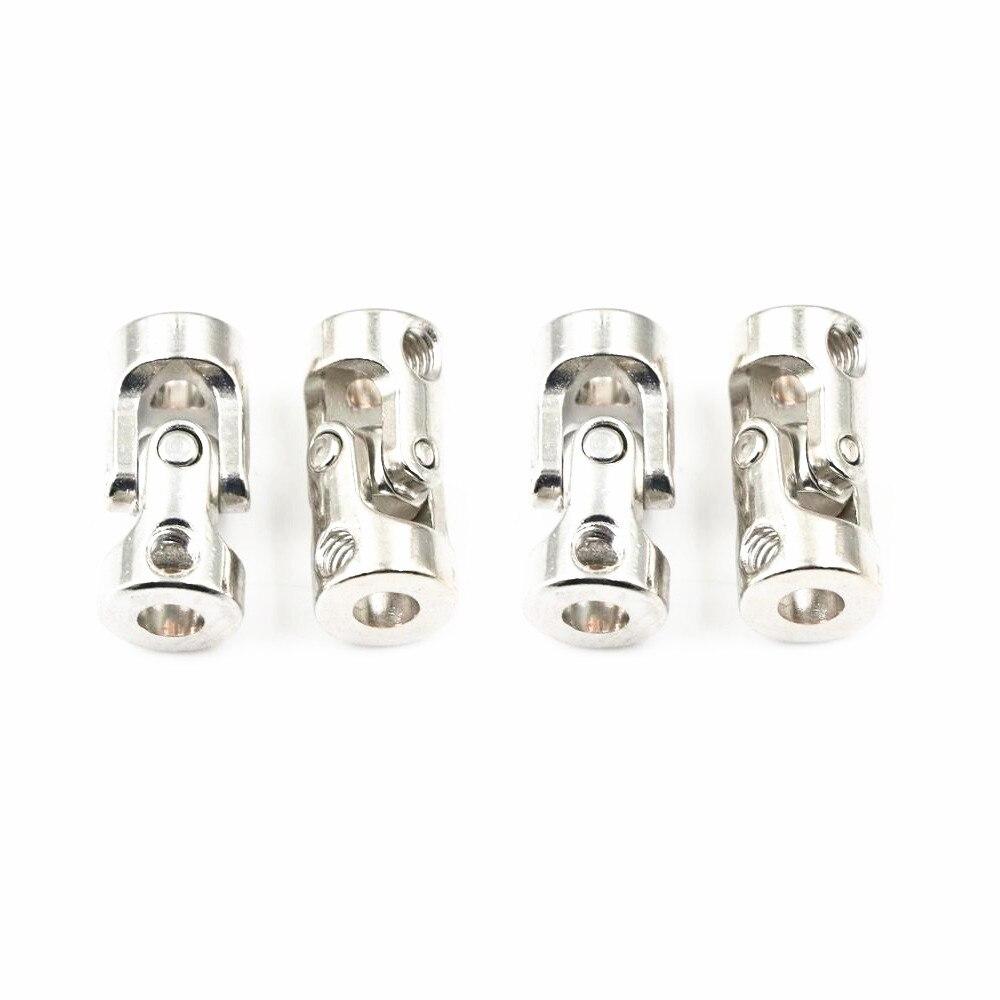 Junta de acoplamientos de cardán de Metal Junta Universal para 4*3mm/4*4mm/5*4mm/5*5mm/5*6*6*6mm accesorios...