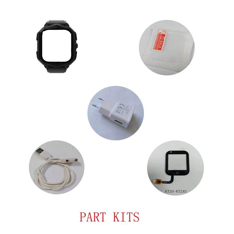 Accessories of Kids GPS Smart Watch Wonlex KT20S: Watch Strap/Case/Cable/Button/Buckle/Screw Accessories for Wonlex Watches