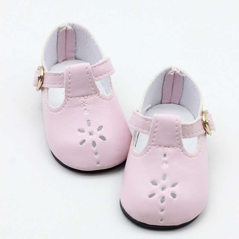 Baby Doll boots for 43cm new baby Doll Shoes fits For 18inch girl Doll shoes Boots Doll Accessories