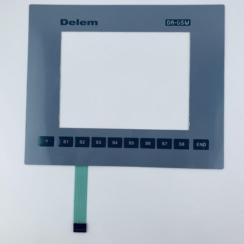 Delem DA65W DA-65W DA 65 واط لوحة مفاتيح غشائية لإصلاح لوحة المشغل آلة الانحناء Delem ، في الأوراق المالية