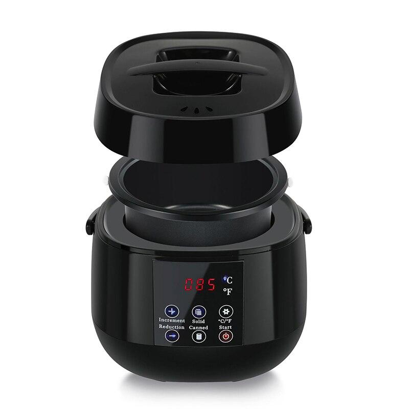 Wax Heater Ontharing Machine Lcd-scherm Smart Waxen Machine Spa Hand Voeten Body Epilator Paraffine Warmer Snelle warmte 500CC