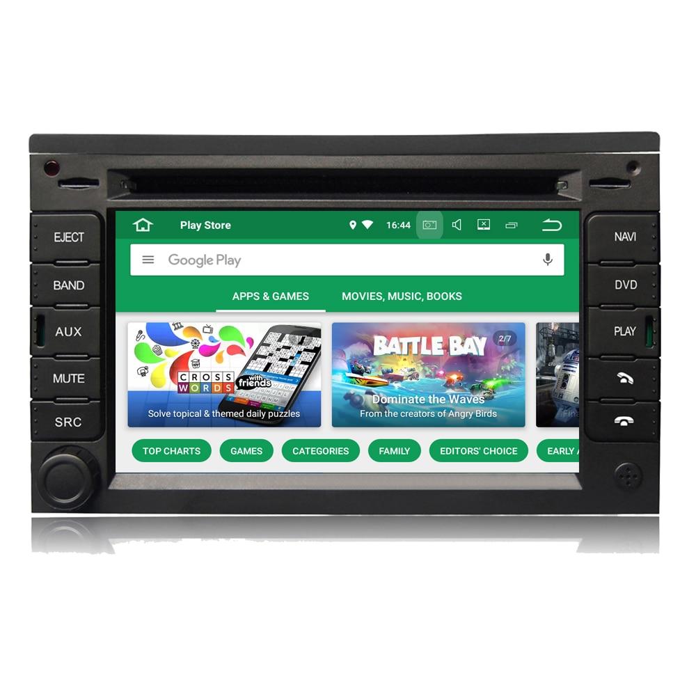 Para VW Passat B5 Jetta Golf 4 Polo Android 8,0 OS automóvil Auto radio estéreo DVD GPS de navegación reproductor Multimedia Unidad Principal