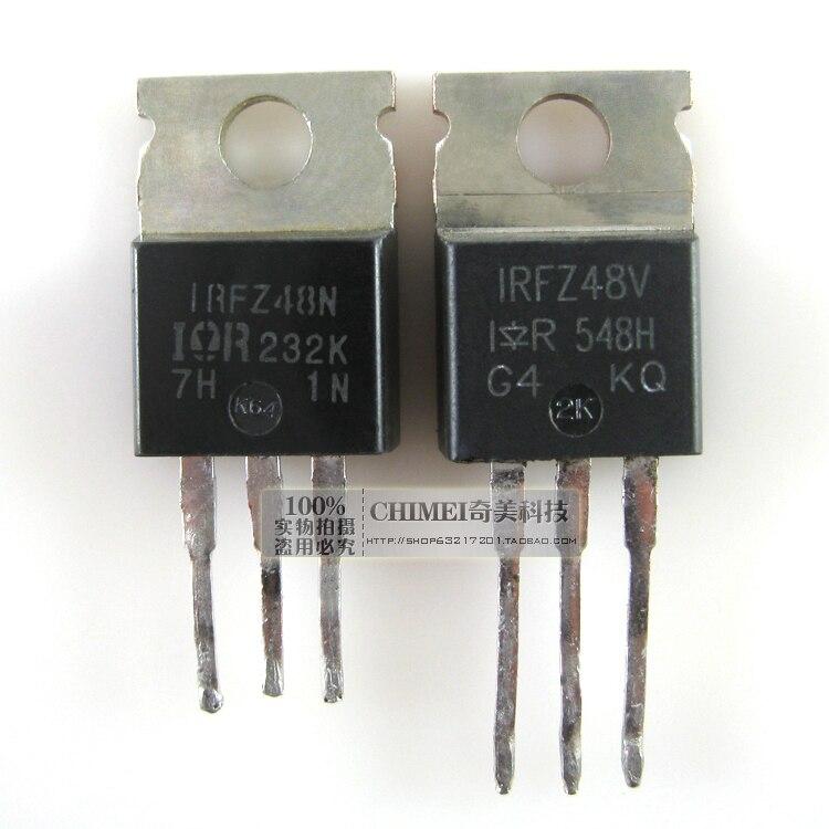 ¡Entrega Gratuita! IRFZ48N IRFZ48V MOS efecto de campo tubo triodo