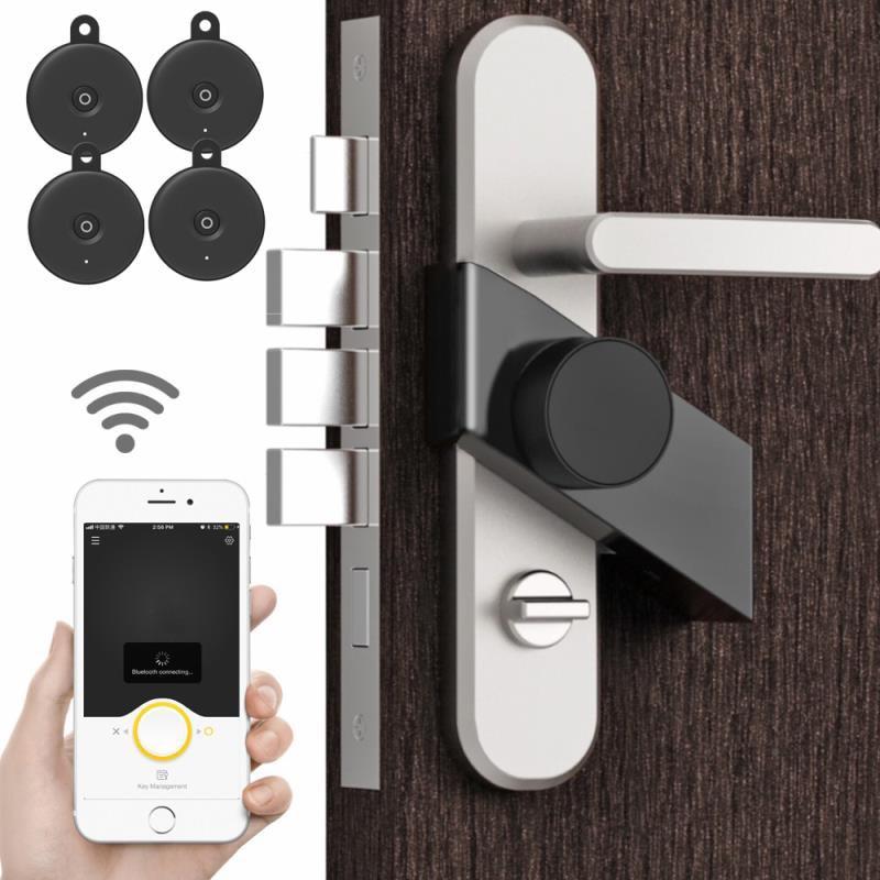 Get Smart Door Lock Home Keyless Lock 4 Key with Sherlock S3 Lock Smart Wireless App Phone Control