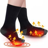 2500mah Electric Heating Socks Breathable Electric Heated Socks Lithium Battery 3-temperature Levels Heating Socks Foot Warmer