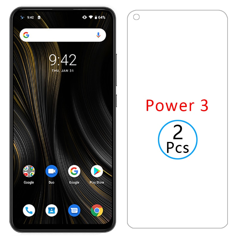 protective glass for umidigi power 3 screen protector tempered glas on umi digi power3 6.53 safety p