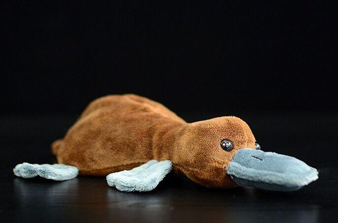 Jouet réaliste ornithorynque en peluche environ 20cm poupée douce bébé jouet cadeau de noël h1255