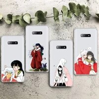 anime japan cartoon inuyasha higurash phone case transparent for samsung galaxy s note 8 9 11 20 10 pro e lite p plus a81