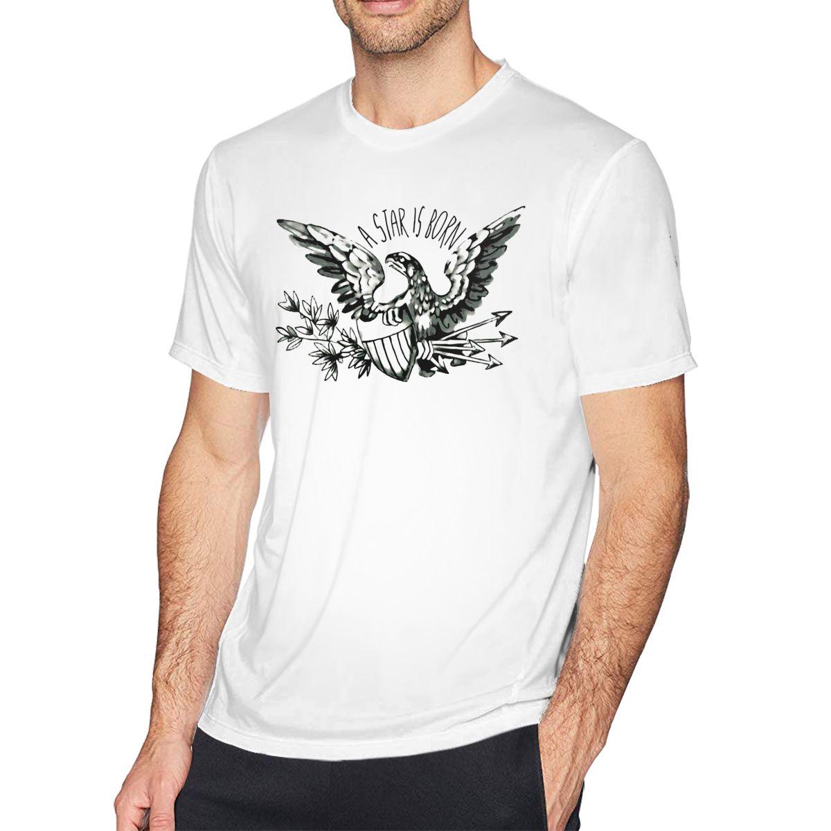 Camiseta de águilas para hombre, Camiseta de algodón A la moda, con...