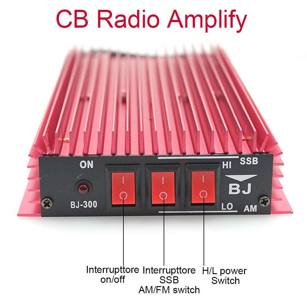CB усилитель радиомощности BJ-300 100 Вт усилитель высокой частоты 3-30 МГц AM/FM/SSB/CW Walkie Talkie CB-усилитель