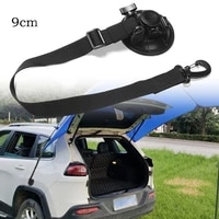 2pcs suction cup tie downs hook for car awning camping tarp boat 9cm extension outdoor camping tents securing hook universal