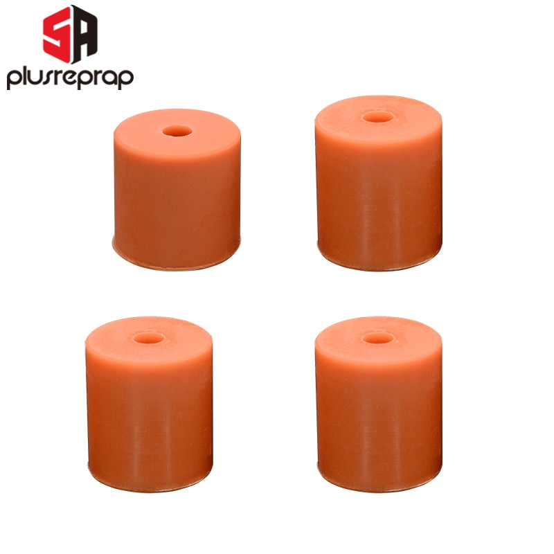 4PCS High Temperature Silicone Solid Spacer 16mm 18mm Heat Bed Leveling Column For CR-10/ CR10S Ender-3 3D Printer Parts