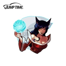 Jump Time 13 x 11.8cm For Mischief That Glows Sexy Sticker Decal Vinyl JDM Import Drift Car Stickers