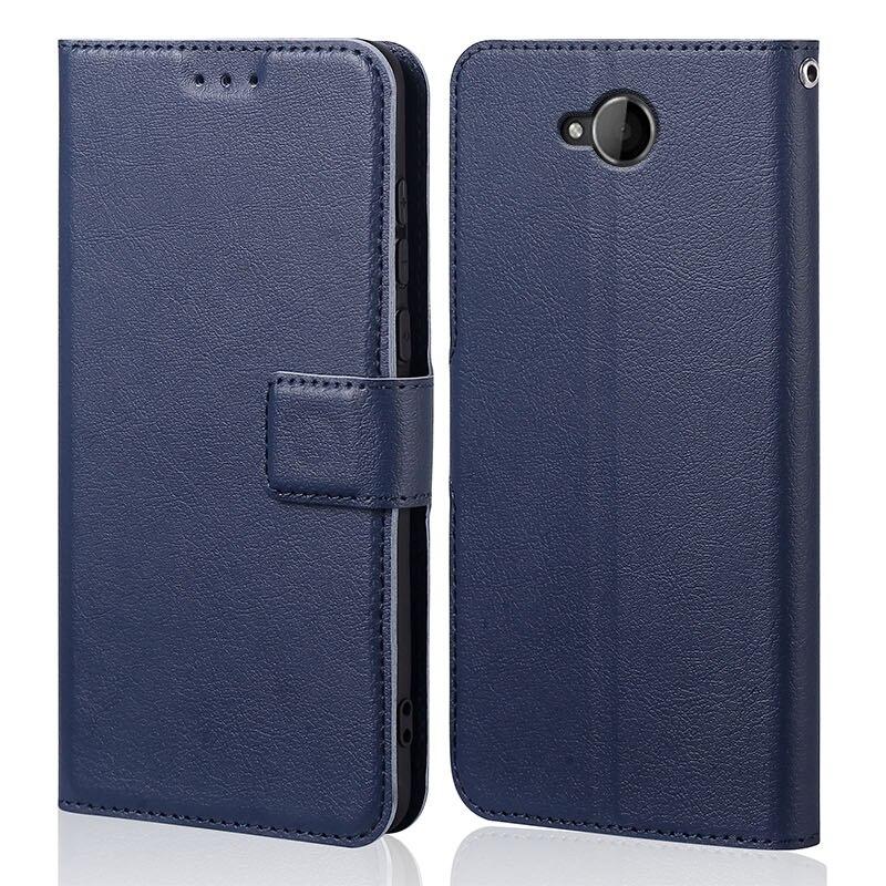 Cubierta de silicona para Nokia Lumia 650 de lujo billetera de cuero...