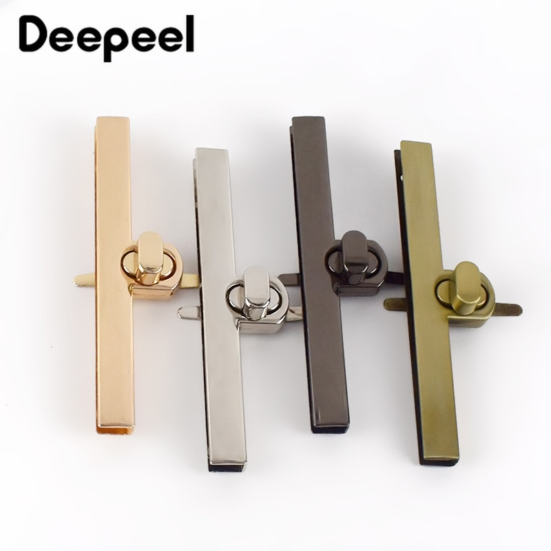 osmond alloy tone turn locks snap clasps closure buckle for bags accessories diy handbags purse alloy button replacement lock 10pcs Deepeel Zinc Alloy Rectangle Lock Clasp Bag Handbag Closure Twist Turn Locks Snaps Purse Buckles DIY Luggage Accessories