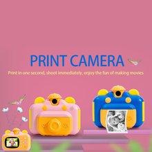 Caméra pour enfants photographique et imprimable Super cadeaux danniversaire sans carte TF