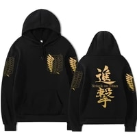 2021 hot japanese anime attack on titan hoodies men autumn winter fleece thick warm attaque des titans sweatshirt unisex male
