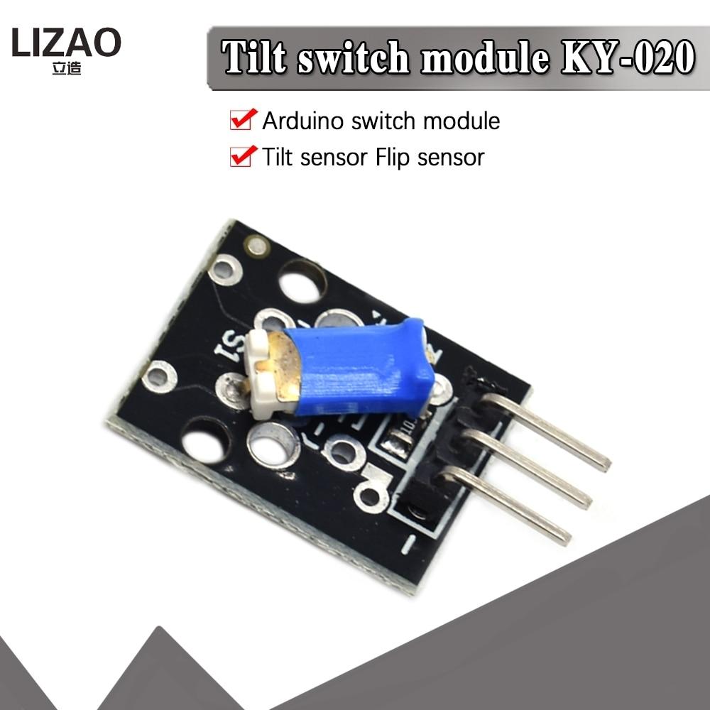 1PCS 3pin KY-020 3.3-5V Standard Tilt Switch Sensor Module For Arduino