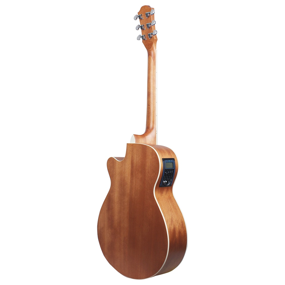 40 Inch Acoustic Guitar With EQ 6 Strings Folk Guitar Beginners Musical Instrument Gift Spruce Panel Guitar With Capo Picks Bag enlarge