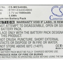 Cameron Sino 1500mAh Battery 82-118523-01, BTRY-ES40EAB00 for Symbol ES400, ES405, MC45, MC4597, Not