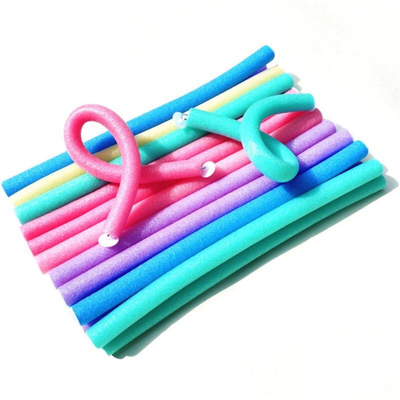10pcs Sponge Hair Curler Makers Twist Curls Tool DIY Styling Hair Rollers 20#824