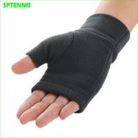 half finger running gloves man women fleece fingerless mittens warm