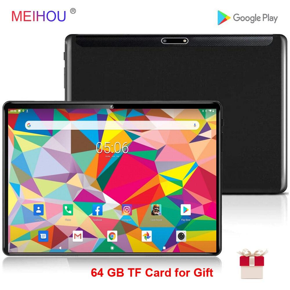 10 Inch Tablet PC 5g Wifi Dual SIM Karte Anruf Android 9,0 OS 3GB RAM 32 GB ROM 2,5 D Gehärtetem Glas Bluetooth Octa Core GPS