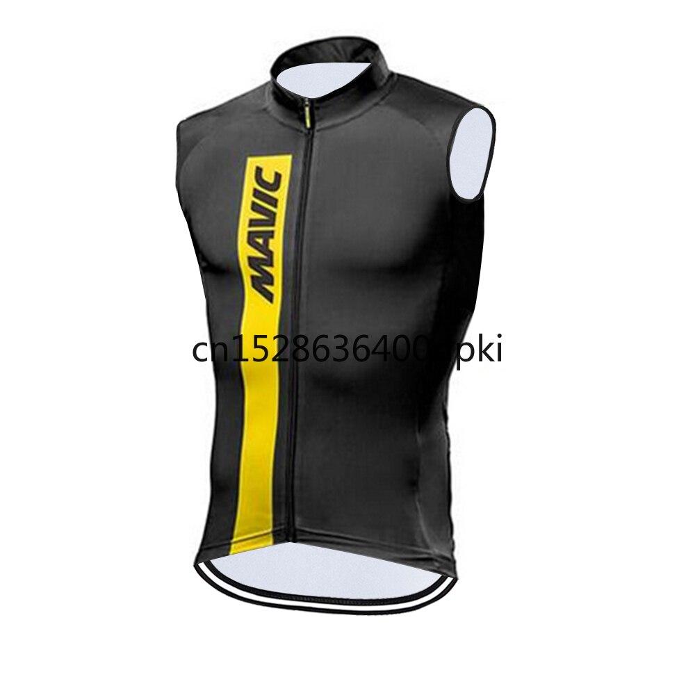 Mavic-Maillot de Ciclismo sin mangas para hombre, Ropa de bicicleta de montaña...