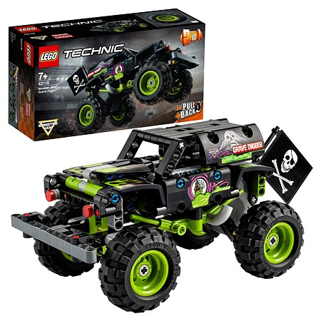 Конструктор LEGO Technic Monster Jam Grave Digger 42118