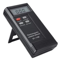 dt 1180 electromagnetic radiation detector household dual frequency radiation tester no battery lowest frequency can reach 5 hz