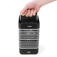 household air cooler mini portable air conditioner humidifier purifier desktop cooling fan for camping outdoor activities ac220v