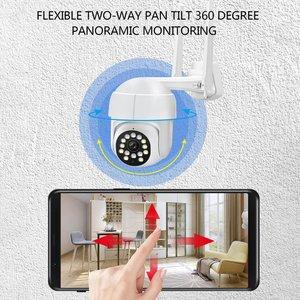 Открытый Камера монитор домашний умный с поддержкой Wi-Fi 360 градусов шаровой Камера бытовой Беспроводной Камеры Скрытого видеонаблюдения Камера