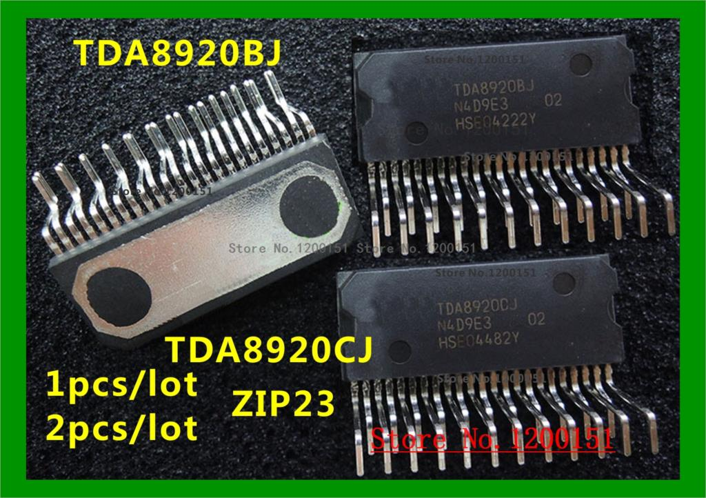 TDA8920 TDA8920BJ TDA8920CJ ZIP23
