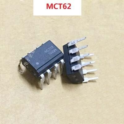 10 шт. MCT62 DIP8 DIP-8 оригинальный в наличии