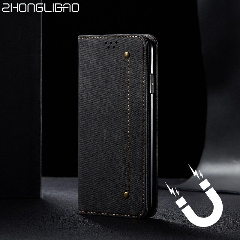 Для samsung s20 ультра кошелек чехол Магнитный книжка флип чехол s20 Plus s20Plus джинсовые кожаные сумки подставка держатель для карт s 20