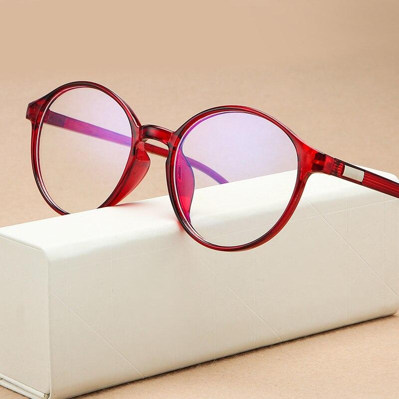 Montura para gafas redonda clásica, diseño de marca, gafas antiazules para hombre, GAFAS RECETADAS, montura de gafas Sexy para mujer