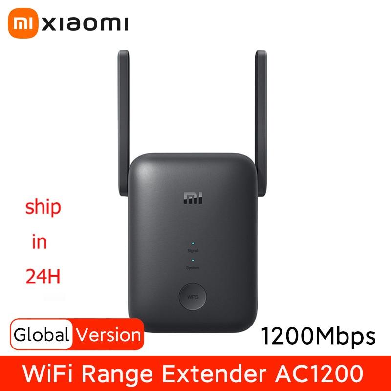 Versión Global Xiaomi Wifi repetidor 5GHz de malla de rango Wifi extensor...