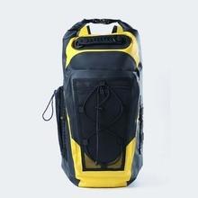 30L sac à dos étanche sac Super sec avec poche arrière souple sangle en Nylon natation rivière trekking Camping en plein air