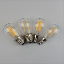 4W 8W 12W 16W LED Filament Lamp 220V G45 Retro Glass Edison E14 E27 Led Light Bulb Replace Incandescent Light Chandeliers