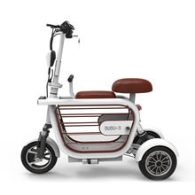 Lithium voiture électrique nouveau scooter à trois roues voiture pour animaux de compagnie vélo électrique pratique pliant scooter parent-enfant vélo ville sco