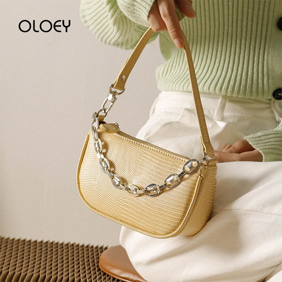 Luxury Design Purese and Handbags Women Bags 2020 Chain Black Shoulder Bag Fashion Candy Color Summer Lady Elegant Underarm Bag