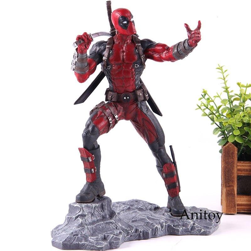 Deadpool Marvel figura de acción diamante selección Premier colección Deadpool resina estatua figura coleccionable modelo de juguete