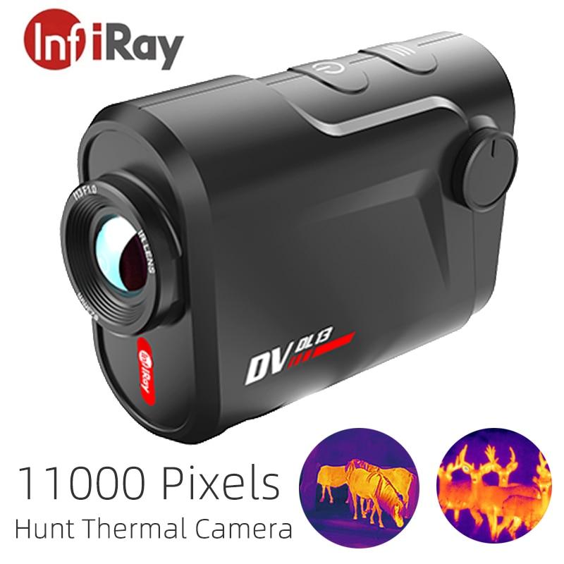 InfiRay DV-DL13 التصوير الحراري للصيد الكاميرا الحرارية للرؤية الليلية بقعة ساخنة تتبع بطارية صغيرة وخفيفة طويلة