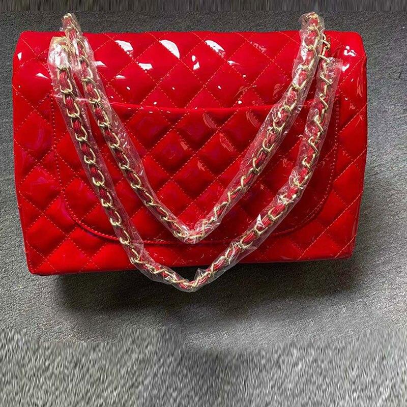 المرأة حقيبة سعة كبيرة حقيبة عالية الجودة حقائب اليد النسائية سلسلة رفرف Crossbody حقيبة الموضة مخلب حقائب كتف مكتب